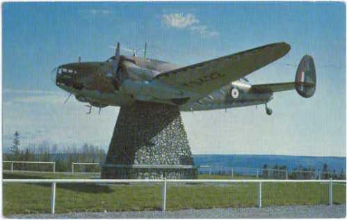 Monument in Gander Nfld