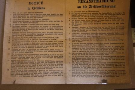 handout to german citizens
