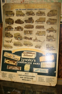 Lowry Chocolate Poster for Military Vehicles